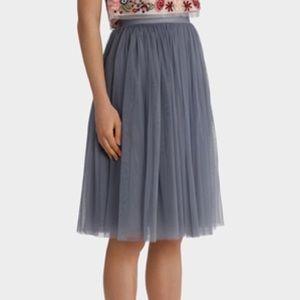 3cff1ad902 Needle & Thread Skirts | Needle Thread Tulle Midi Skirt | Poshmark